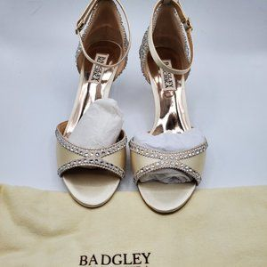 Badgley Mischka Gillian Ivory